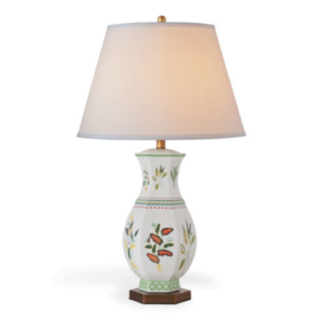 Green Botanical Table Lamp