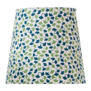 Green Ginkgo-Leaf Empire Lampshade