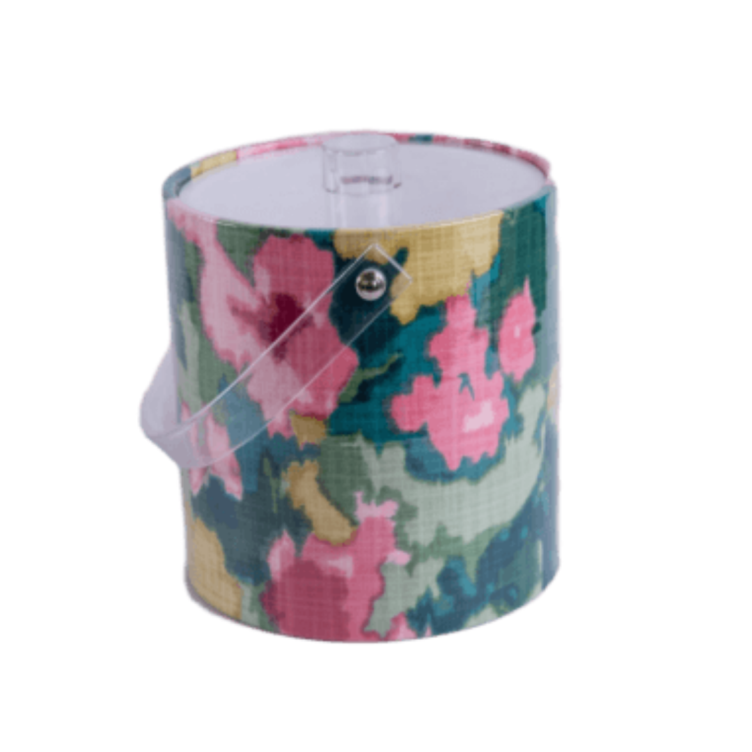 Floral Ice Bucket Page Sep Sitename Rousham Romp Pattern