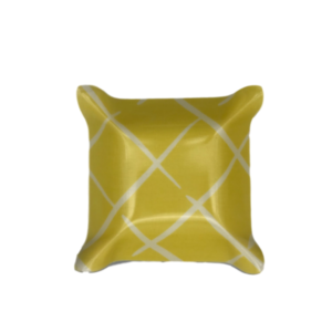 Yellow Trellis Laminated Catchall