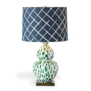 Green Brushstroke Lamp