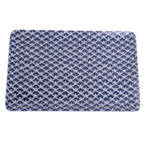 Blue Pattern Tray