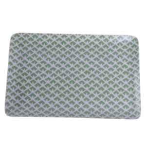 Green Pattern Tray