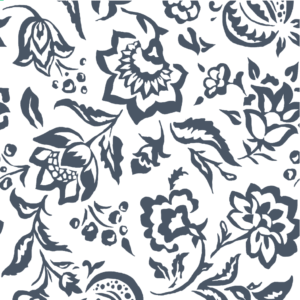 Rokeby Road Reverse Indigo fabric by the yard