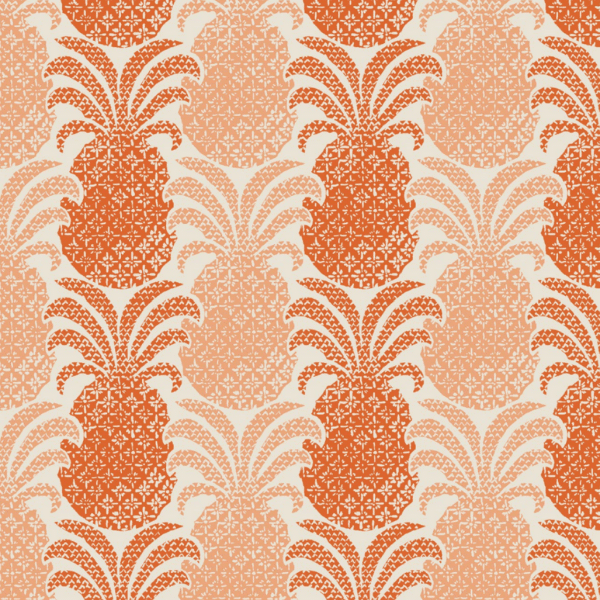 Colony Club Tangerine Fabric